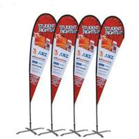 China Custom printing Feather Flag Banners for exhibition and promotion wholesale