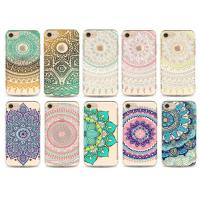 China Flower Decorated Custom Made Phone Cases / Tpu iPhone protective cover wholesale