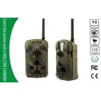 China SMS MMS GSM GPRS Trail Cameras , 1080P HD Motion Detection Game Cameras on sale