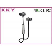 China Wireless Ear Clip Headphones , Bluetooth Exercise Headphones For IPhone / Smartphone wholesale
