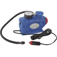 China Blue Rocket Shape 3 In1 Lamp Pressure Mesure Car Air Compressor Fast Inflation 12V wholesale