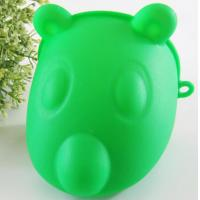 China Finger Oven Mitts Hot Hands Gloves , Silicone Hot Gloves Green Color wholesale