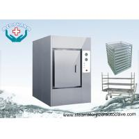 China Floor standing Large Waste Autoclaves With Temperature Sensors For CSSD wholesale