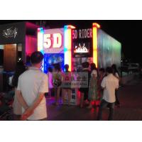 China Professional 5D Cinema System with ABS 3D Glasses and Motion Chair wholesale