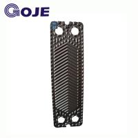 China P16 Nickel Plate Type Heat Exchanger Parts For Industrial Plate Heat Exchanger Special Flow Path wholesale