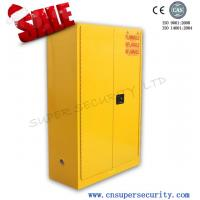 Lab Safety Flammable Storage Cabinet With New Paddle Lock Liquid-tight Containment Sump