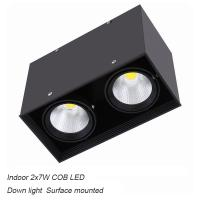 China Interior IP40 surface mounted 14W COB LED downlight for shopping mall wholesale