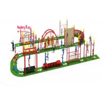 China Outside Kids Climbing Play Equipment  For Children Park Obstacle Challenge wholesale