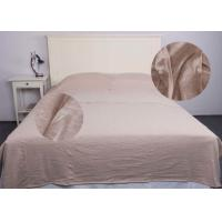 China Jersey Oatmeal Modern Bedding Sets Comfortable With Single / Double Sleeping Bags wholesale