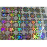 China 3D Round Shaped Hologram Seal Stickers Body Building Steroids Packaging wholesale