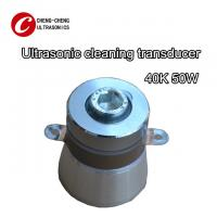China 40k 50w Piezoelectric Ultrasonic Transducer Ce Rosh Listed For Making Cleaner wholesale