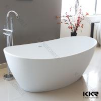 Acrylic resin solid surface bathtub stone modern stand for Freestanding stone resin bathtubs