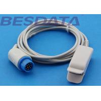 China Adult Finger Clip SpO2 Sensor Probe Compatible For Mennen Nellcor OxiMax Vitalogik 4500 wholesale
