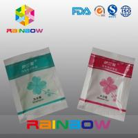 China Plastic disposable shampoo packaging grip seal bags with tear notch wholesale