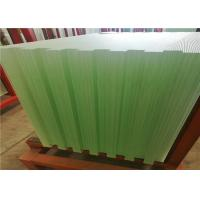 China Solar Energy Ultra Clear Tempered Glass Textured Solid Structure 3.2mm 4mm Thickness wholesale