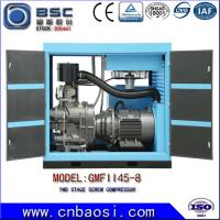 Buy cheap High Efficient 45kw Stationary High Volume Air Compressor 6.5-9.8m³ / Min from wholesalers