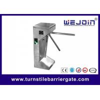 China Indoor office Face Access Control Tripod Turnstile with Fingerprint reader face Tripod Turnstile gate wholesale