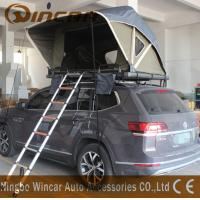 Quality Overland Car Roof Mounted Tent With One Ladder Open In One Side Manually for sale