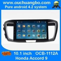 China Ouchuangbo Honda Accord 9 android 4.2 multimedia kit with bluetooth gps navigation ipod usb mp3 player wholesale