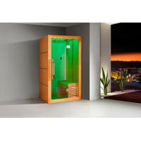 Buy cheap Monalisa I-006 far infrared sauna room with light wave sauna enclosure famous brand sauna room manufacturer from wholesalers
