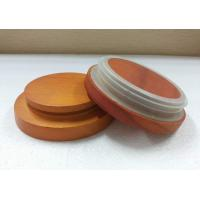 Wooden  Lids Made In Pine Wood With Seal Gasket  As Diameter 90mm x 21mm
