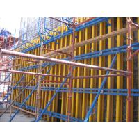 China Conventional Concrete Wall Formwork H20 Timber Beam Formwork , Lightweight wholesale