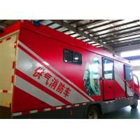 China Multi Functional Gas Supply Fire Truck Rated Output Power 50KW Generator on sale