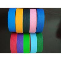 China Crepe Paper Colored high quality Masking Tape Automotive Decorative Masking Tape wholesale