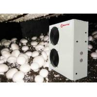 China Automaticlly Defrosting Air To Water Heat Pump For Mushroom Farming Heating Cooling Hot Water on sale
