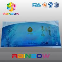 Quality PVC Heat Shrink Sleeve Labels For Water Bottle Packaging Customized Printed for sale