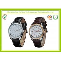 Quality Japan Movement Alloy Case Casual Men Sport Watches With Logo Embossed for sale
