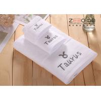 China Solid Color Large Bath Towels Hotel Collection For Women / Men Easy Wash wholesale