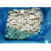 China Slice Shape IQF Mushrooms , Individual Quick Freezing Delicious Champignon on sale