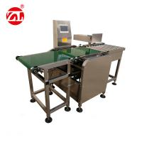 China Conveyor Belt Weight Checking Machine With Reject Arm / Air Blast / Pneumatic Pusher on sale