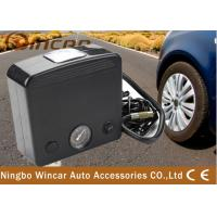 China Silver Black 12V Square Air Compressor With Gauge W2030 Portable wholesale