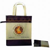 China Promotional Bag, Made of Nonwoven Material, Customized Logo Printings are Accepted wholesale