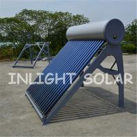 Low Pressure Solar Vacuum Tube Water Heater With Special Absorptive Coating