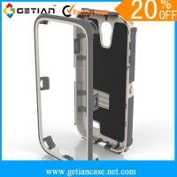 China Anti Slip Cell Phone Protective Cases With Stand For Samsung Note 2 on sale