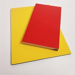 China Fireproof Wood Grain Aluminium Composite  Panel , Aluminium Advertising Boards wholesale