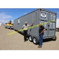 China Modern Design Shipping Prefab Container House On Wheels Tiny Container Home wholesale