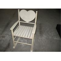 China Custom Wood Contemporary Modern Dining Room Chairs In Ivory Color Heart Back wholesale
