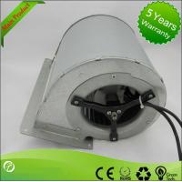 China EC Input Double Inlet Centrifugal Fans / Forward Curve Fan Blower 133 * 190mm wholesale