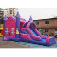 China Outside Prince N Princess Pink Inflatable Bounce Houses For Kids Party wholesale