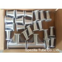 Buy cheap TP316L Sanitary Valves And Fittings 1/2'' - 4'' Stainless Steel Reducing Tee Cross Ends from wholesalers
