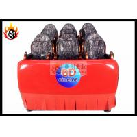 China Luxury 6D Local Movie Theaters with Hydraaulic Platform for 6 / 9 Connected Seats wholesale