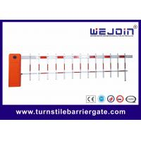 China Outdoor Road Customized CE Parking Lot Barrier Gate With Aluminum Alloy Core wholesale