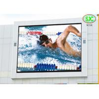 China p10 DIP full color  outdoor led display for all kinds of Stadium,road,buildings use wholesale