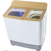 China High Efficiency Portable Washing Machine Twin Tub With Spinner Golden Glass Cover wholesale