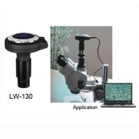 China LW-130 chinese 1.3M pixel high resolution microscope digital camera electronic eyepiece wholesale