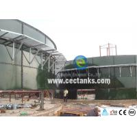 China Anti-adhesion Glass Fused To Steel water Tanks with 30 Yeas Span Life 20 m3 wholesale